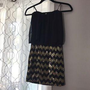 Cute sequined NYE dress
